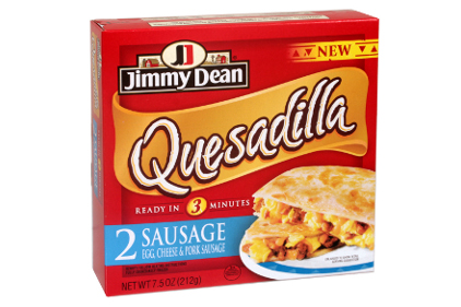 Jimmy Dean breakfast quesadillas