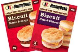 new jimmy dean frozen breakfast sandwiches