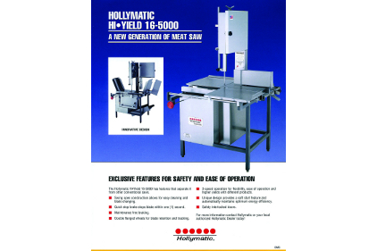 Hollymatic Meat Saw