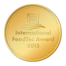 FoodTec-Medaille gold225