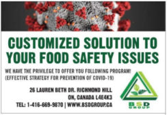 Customized Solution to Your Food Safety Issue