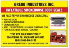 Inflatable Smokehouse Door Seals