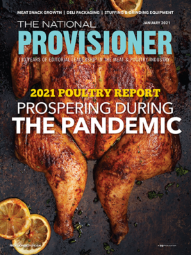 The National Provisioner January 2021 Cover