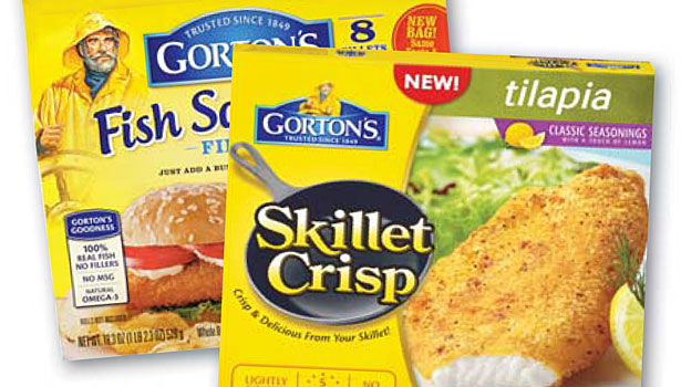 Gorton's packaged fish