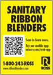 Sanitary Ribbon Blenders