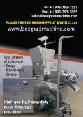 High quality, heavy duty meat deboning machines