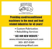Mountain States Processing Equipment