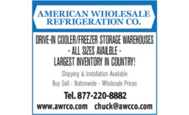 DRIVE-IN COOLER/FREEZER STORAGE WAREHOUSES