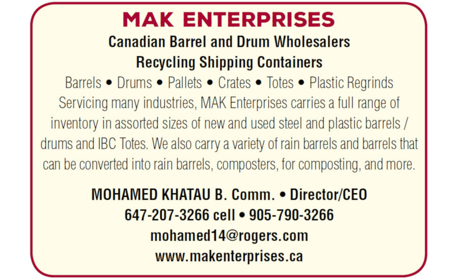 Canadian Barrel & Drum Wholesalers | Recycling Shipping Containers
