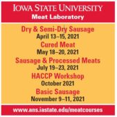 Iowa State University Meat Laboratory