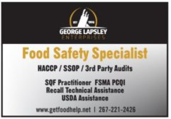 Food Safety Specialist