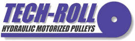 TECH-ROLL HYDRAULIC MOTORIZED PULLEYS