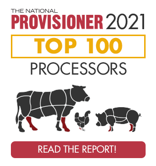 The National Provisioner 2021 Top 100 Meat and Poultry Processors