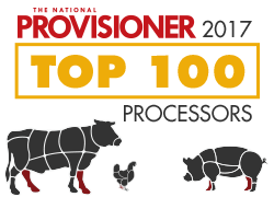 The National Provisioner 2017 Top 100 Meat and Poultry Processors