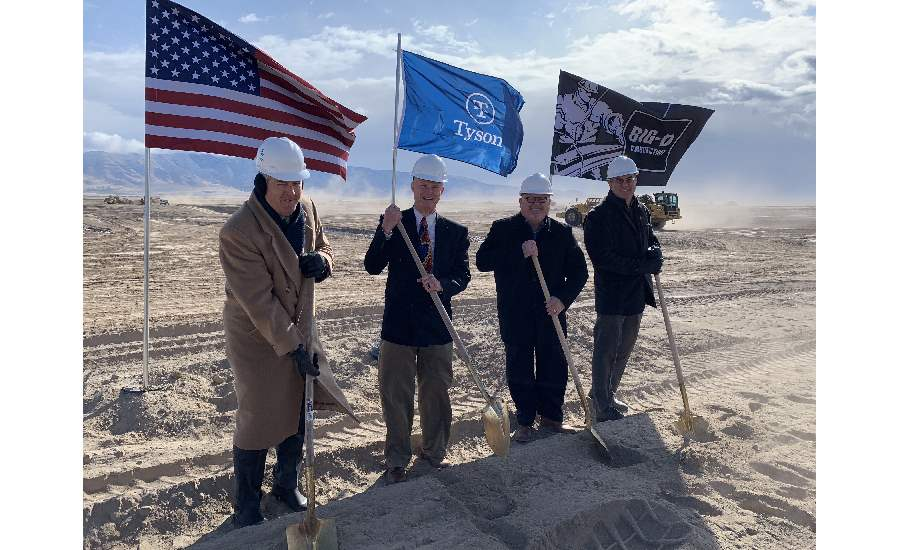 Tyson Fresh Meats Utah groundbreaking