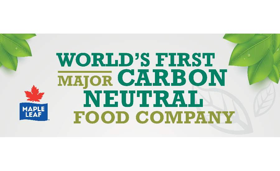 Maple Leaf Foods Carbon Neutral