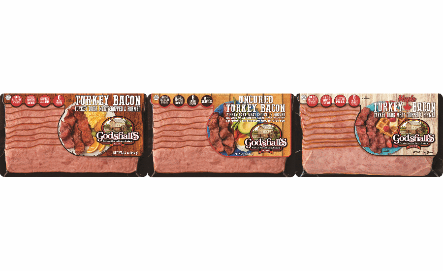 Godshalls bacon packaging
