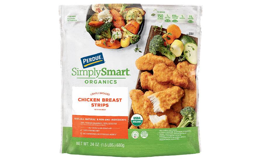 Perdue Organics chicken strips