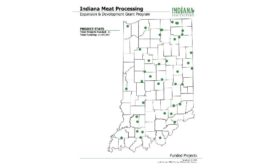 Indiana meat processors CARES