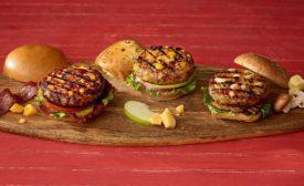 Bell & Evans burgers