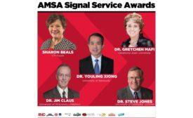 AMSA Signal Service Award