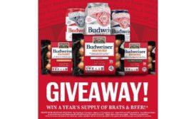 Coleman Natural Foods Budweiser Brat Day