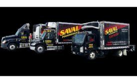 Saval Foodservice trucks