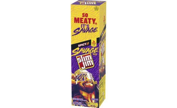 Slim Jim Savage Spicy carton