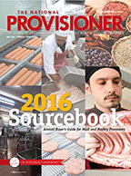 The National Provisioner April 2016 Cover