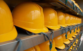 Hard hats help ensure worker safety in meat and poultry plants