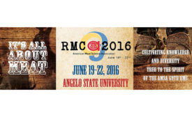 AMSA's 69th Reciprocal Meat Conference (RMC) takes place June 19-22, 2016