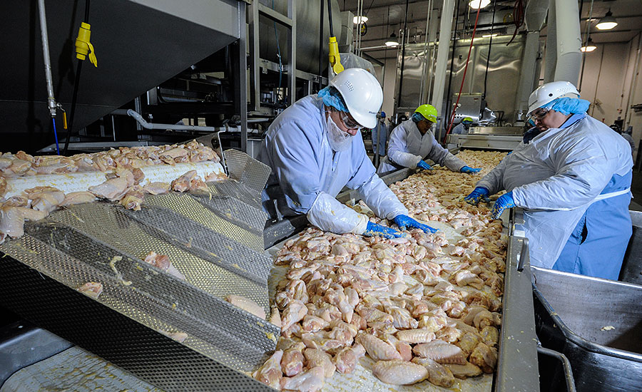 West Liberty Foods was able to create a new processing line to produce frozen chicken wings at the Bolingbrook facility