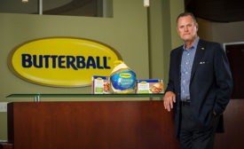 Kerry Doughty, president and CEO of Butterball LLC
