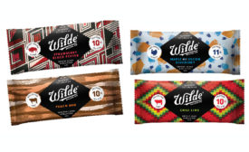 Wilde Snacks offers whole-food, savory protein bars in flow wrap packaging