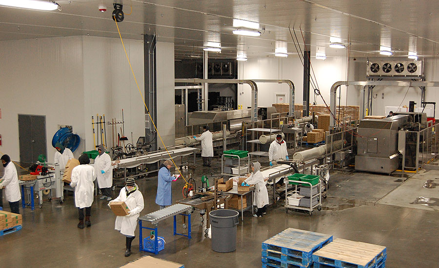 Inside the Universal Pasteurization processing facility