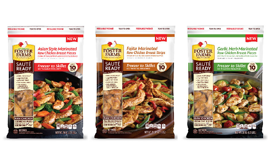 Foster Farms Sauté Ready freezer to skillet meals