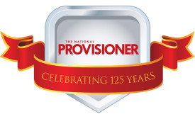 The National Provisioner's 125th anniversary logo