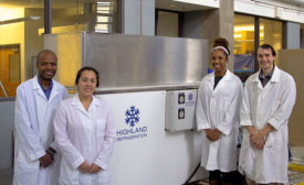 Researchers at the Georgia Tech Research Institute are exploring the use of ice slurry as an alternative chilling medium for poultry processing