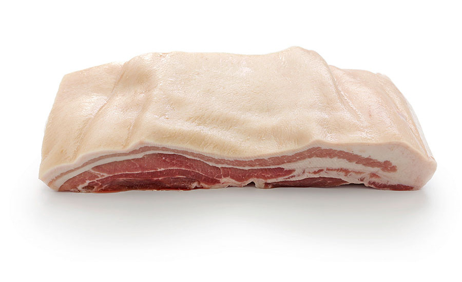 Compositional, physical factors associated with pork belly firmness