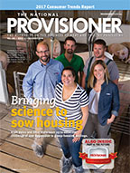 The National Provisioner November 2016 Cover