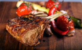 American lamb is a prominent protein in upscale restaurants