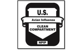 U.S. Avian Influenza Clean Compartment