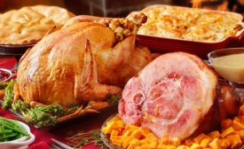 Turkey remains the preferred protein for holiday dinners
