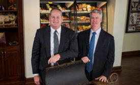 Ken Sullivan and Will Brunt of Smithfield Foods