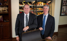 Ken Sullivan and Will Brunt of Smithfield Foods