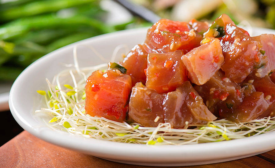 The National Restaurant Association named poke, a Hawaiian specialty, a hot trend for 2017