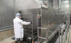 Michigan Turkey Producers' Smoke Truck Tunnel Washer