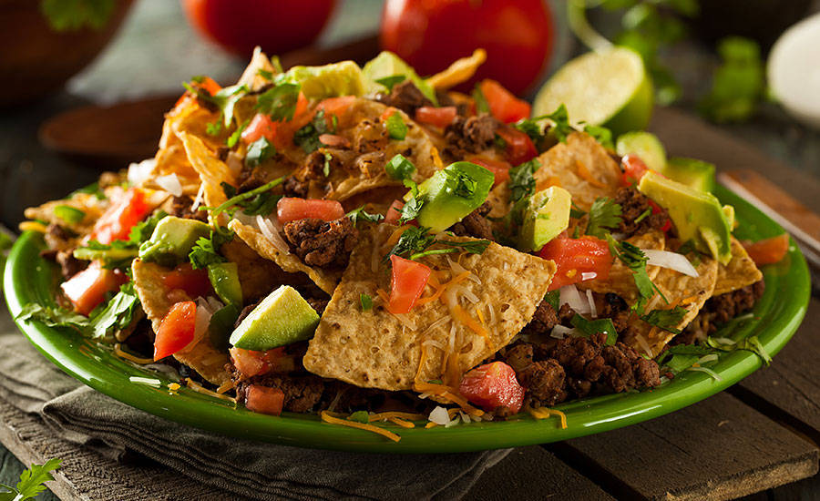 Millennials prefer spicy and snack-style entrees such as loaded nachos