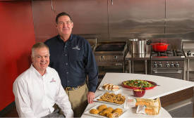 Chris Sliva and John Simons of AdvancePierre Foods