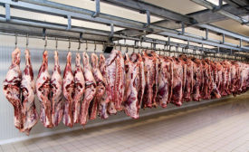 There are several ways to reduce water usage and cut costs, without compromising food safety, during carcass washing